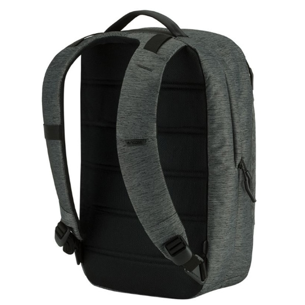Incase インケース City Compact Backpack バックパック Heather Black/Gunmetal Grey 37161022