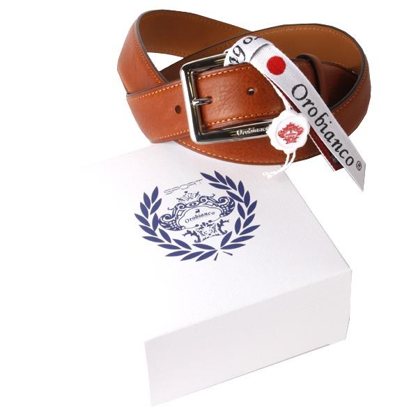 Orobianco(オロビアンコ) Orobianco オロビアンコ レザーベルト OBS-013012 BROWN【ファッション・アパレル 服飾小物メンズベルトOrobianco】【TiCTAC】チックタックオンラインストア