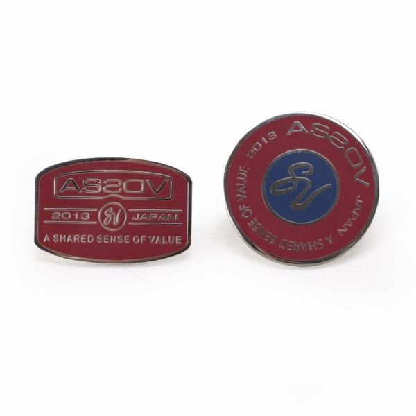 AS2OV(アッソブ) ASSOV アッソブ BRASS PINS ピンズ ワイン 051301 UNBY【ファッション・アパレル 服飾小物メンズタイピンAS2OV】【TiCTAC】チックタックオンラインストア