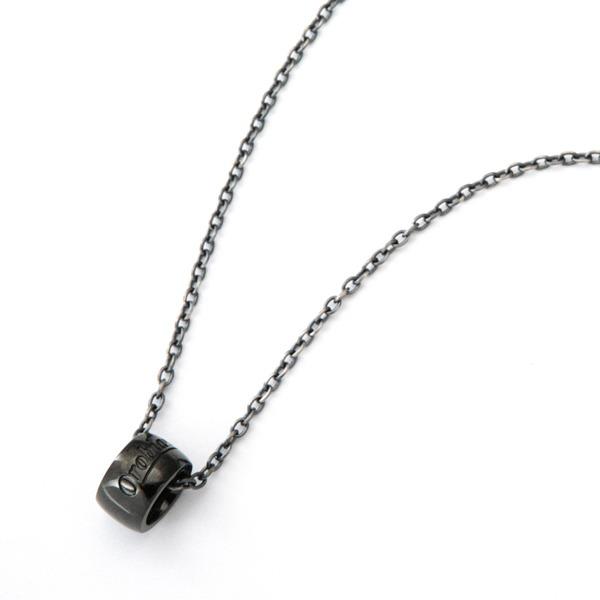 Orobianco(オロビアンコ) Orobianco オロビアンコ ネックレス ブラック OREN008BK【ジュエリー・腕時計 メンズネックレスOrobianco】【TiCTAC】チックタックオンラインストア