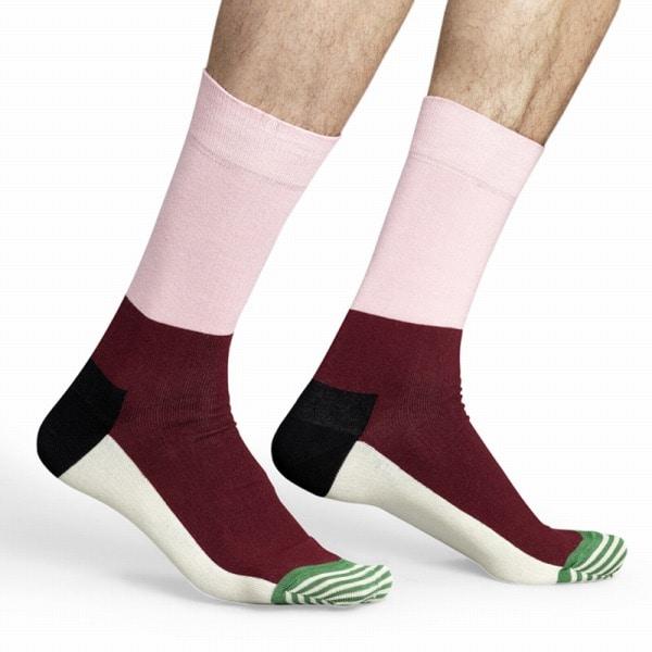 Happy Socks(ハッピーソックス) Happy Socks ハッピーソックス 靴下STRIPE TOE  Lサイズ ST01-034【ファッション・アパレル インナーメンズ靴下Happy Socks】【TiCTAC】チックタックオンラインストア