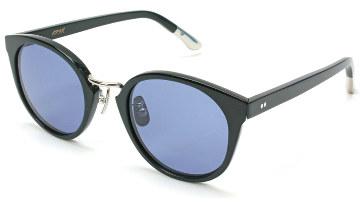 01:Shiny Black-Silver/Blue (Black)