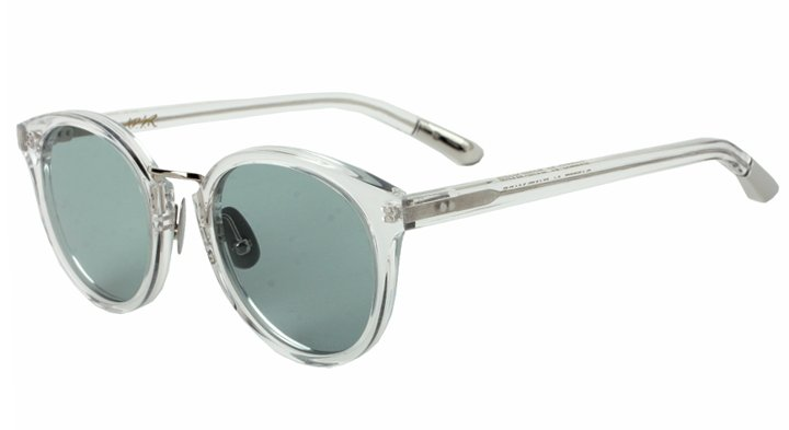 DARRYL 04 Col:Clear-Silver/Lt.Green (Black) サングラス