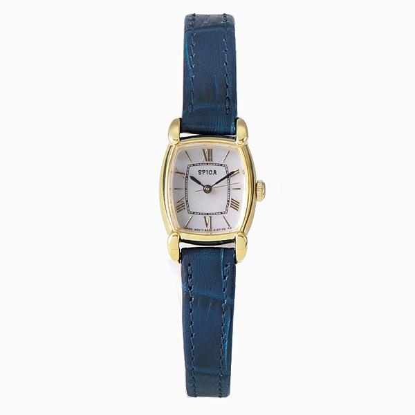 spica スピカ【SPICA スピカ Mini Tonneau Solar ソーラー TiCTAC オリジナル 腕時計 レディース SPI28-YG/NVL】【ジュエリー・腕時計 レディースspica】【TiCTAC】チックタックオンラインストア