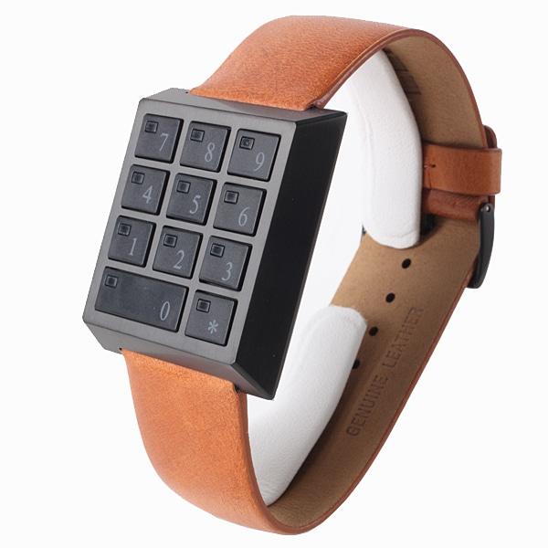 SALE!! セール!!【【SALE】  SAFETY BOX WATCH セーフティーボックス 腕時計 HAU-SB-BK/BR】【ジュエリー・腕時計 メンズSAFETY BOX WATCH】【TiCTAC】チックタックオンラインストア