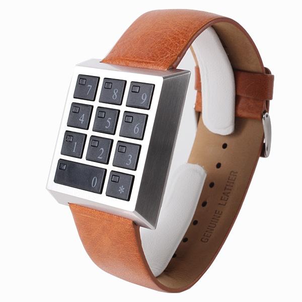 SALE!! セール!!【【SALE】  SAFETY BOX WATCH セーフティーボックス 腕時計 HAU-SB-SS/BR】【ジュエリー・腕時計 メンズSAFETY BOX WATCH】【TiCTAC】チックタックオンラインストア