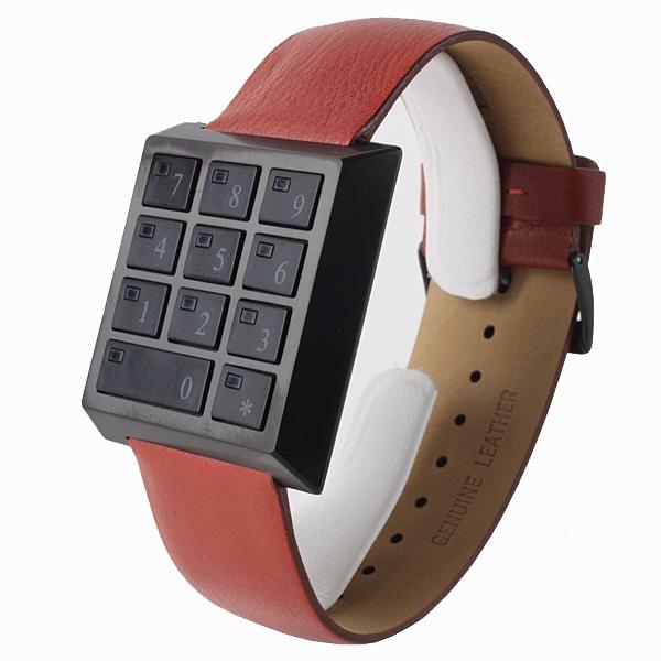 SALE!! セール!!【【SALE】  SAFETY BOX WATCH セーフティーボックス 腕時計 HAU-SB-BK/RE】【ジュエリー・腕時計 メンズSAFETY BOX WATCH】【TiCTAC】チックタックオンラインストア