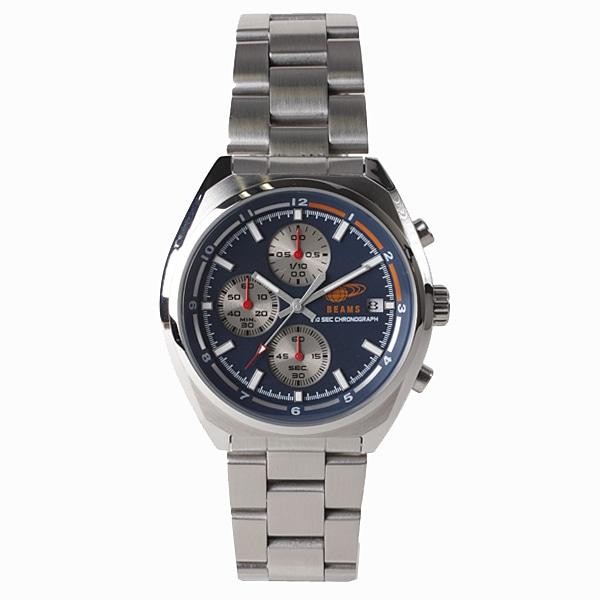 BEAMS ビームス【BEAMS×TiCTAC ビームス×チックタック コラボレーションモデル Chronograph クロノグラフ 腕時計 メンズ BEA01-SS/BL】【ジュエリー・腕時計 メンズBEAMS】【TiCTAC】チックタックオンラインストア