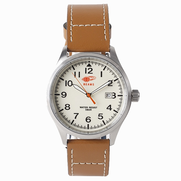 BEAMS ビームス【BEAMS×TiCTAC ビームス×チックタック コラボレーションモデル 3HANS 腕時計 BEA02-LBRL/CR】【ジュエリー・腕時計 メンズBEAMS】【TiCTAC】チックタックオンラインストア