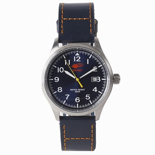 BEAMS ビームス【BEAMS×TiCTAC ビームス×チックタック コラボレーションモデル 3HANS 腕時計 BEA02-NVL/NV】【ジュエリー・腕時計 メンズBEAMS】【TiCTAC】チックタックオンラインストア