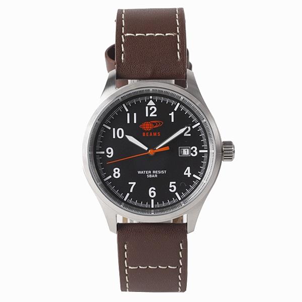 BEAMS ビームス【BEAMS×TiCTAC ビームス×チックタック コラボレーションモデル 3HANS 腕時計 BEA02-BRL/BK】【ジュエリー・腕時計 メンズBEAMS】【TiCTAC】チックタックオンラインストア