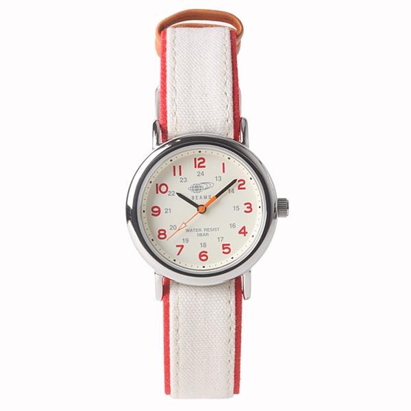 BEAMS ビームス【BEAMS×TiCTAC ビームス×チックタック コラボレーションモデル フィールドウォッチ?U 腕時計 BEA03-CA-RE】【ジュエリー・腕時計 ユニセックスBEAMS】【TiCTAC】チックタックオンラインストア