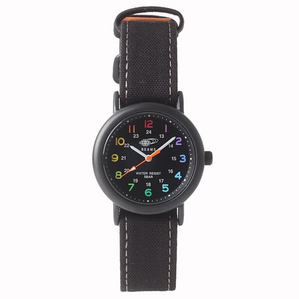 BEAMS ビームス【BEAMS×TiCTAC ビームス×チックタック コラボレーションモデル フィールドウォッチ?U 腕時計 BEA03-CA-BK】【ジュエリー・腕時計 ユニセックスBEAMS】【TiCTAC】チックタックオンラインストア
