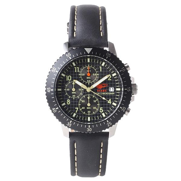 BEAMS ビームス【BEAMS×TiCTAC ビームス×チックタック コラボレーションモデル クロノグラフ 腕時計 BEA04-BK】【ジュエリー・腕時計 メンズBEAMS】【TiCTAC】チックタックオンラインストア