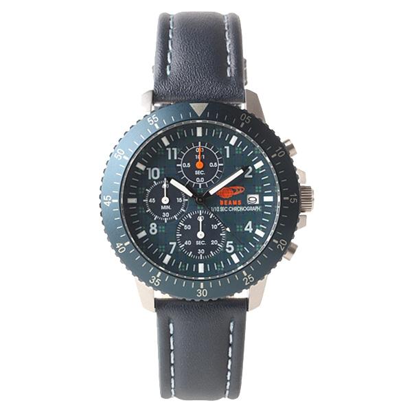 BEAMS ビームス【BEAMS×TiCTAC ビームス×チックタック コラボレーションモデル クロノグラフ 腕時計 BEA04-NV】【ジュエリー・腕時計 メンズBEAMS】【TiCTAC】チックタックオンラインストア