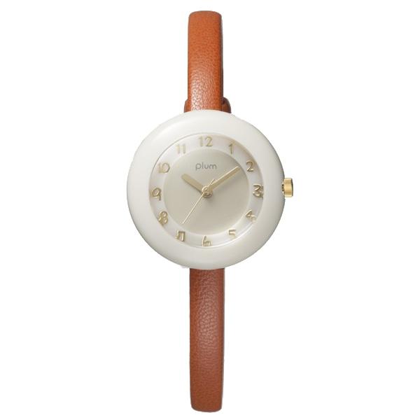 Plum プラム【PLUM プラム Marble Leather マーブル レザー 腕時計 レディース PLM08-CR/CAL】【ジュエリー・腕時計 レディースPlum】【TiCTAC】チックタックオンラインストア