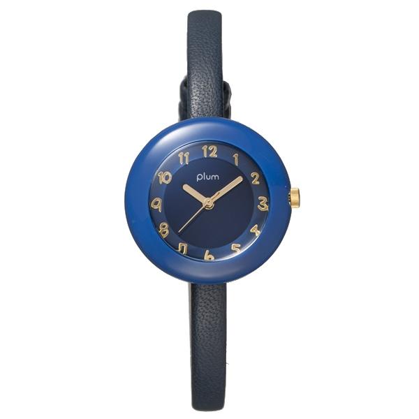Plum プラム【PLUM プラム Marble Leather マーブル レザー 腕時計 レディース PLM08-NV/NVL】【ジュエリー・腕時計 レディースPlum】【TiCTAC】チックタックオンラインストア