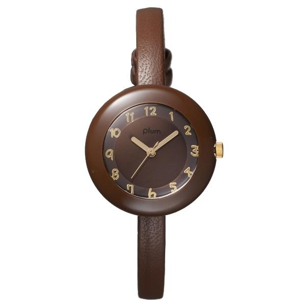 Plum プラム【PLUM プラム Marble Leather マーブル レザー 腕時計 レディース PLM08-BR/BRL】【ジュエリー・腕時計 レディースPlum】【TiCTAC】チックタックオンラインストア
