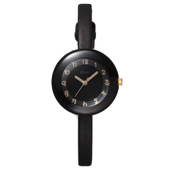 Plum プラム【PLUM プラム Marble Leather マーブル レザー 腕時計 レディース PLM08-BK/BKL】【ジュエリー・腕時計 レディースPlum】【TiCTAC】チックタックオンラインストア