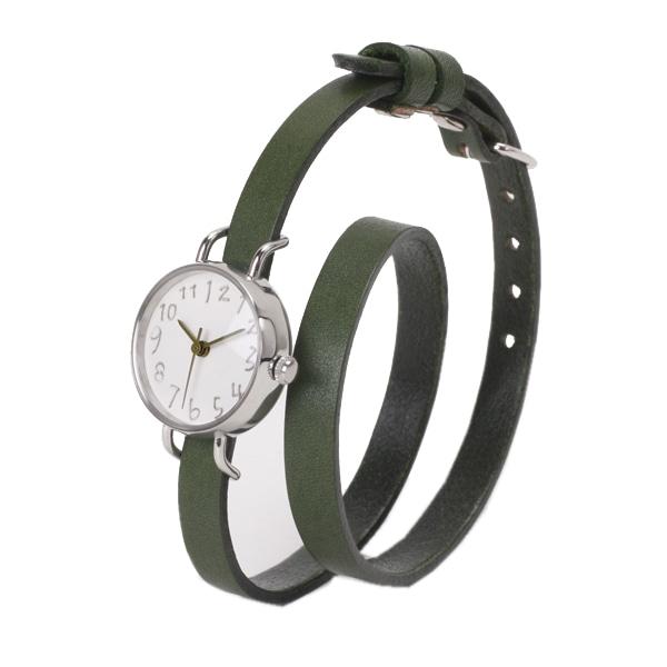 kelucuan クルチュアン【Kelucuan クルチュアン ステンレス グリーン針 腕時計 KEC-3SS-GR-LL】【ジュエリー・腕時計 レディースkelucuan】【TiCTAC】チックタックオンラインストア