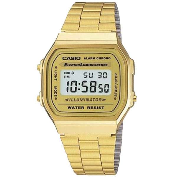 SALE!! セール!!【【SALE!!】 カシオ CASIO データバンク 逆輸入 デジタル 腕時計 A-168WG-9】【ジュエリー・腕時計 メンズCASIO】【TiCTAC】チックタックオンラインストア