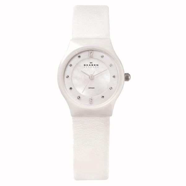 SALE!! セール!!【【SALE!!】 SKAGEN スカーゲン Ceramic セラミック 腕時計 【国内正規品】 レディース ホワイト 233XSCLW】【ジュエリー・腕時計 レディースSKAGEN】【TiCTAC】チックタックオンラインストア