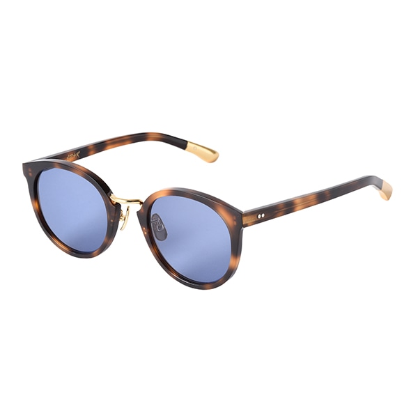 14:Havana Brown-Gold / Blue (Black)