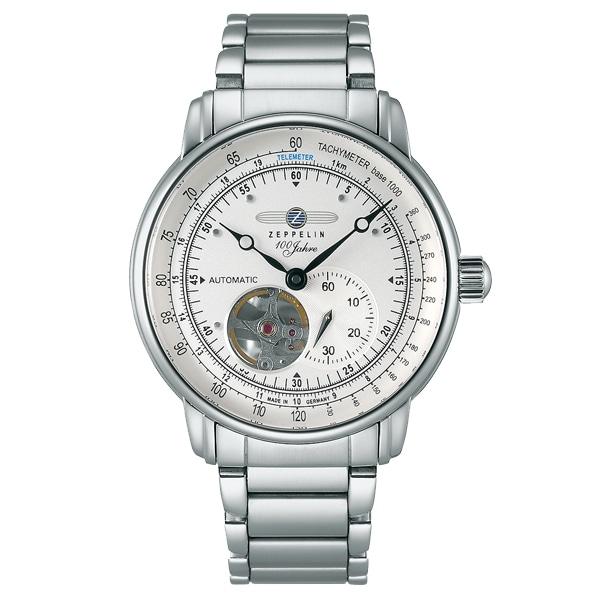 ZEPPELIN ツェッペリン【ZEPPELIN ツェッペリン 300本限定モデル オープンハート 100周年記念モデル ドイツ製 腕時計 メンズ 7662-U1】【ジュエリー・腕時計 メンズZEPPELIN】【TiCTAC】チックタックオンラインストア