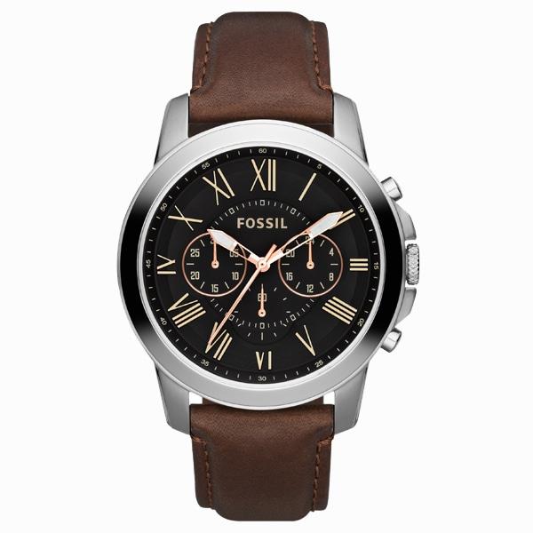 FOSSIL フォッシル【FOSSIL フォッシル GRANT グラント クロノグラフ 腕時計 【国内正規品】 メンズ FS4813】【ジュエリー・腕時計 メンズFOSSIL】【TiCTAC】チックタックオンラインストア