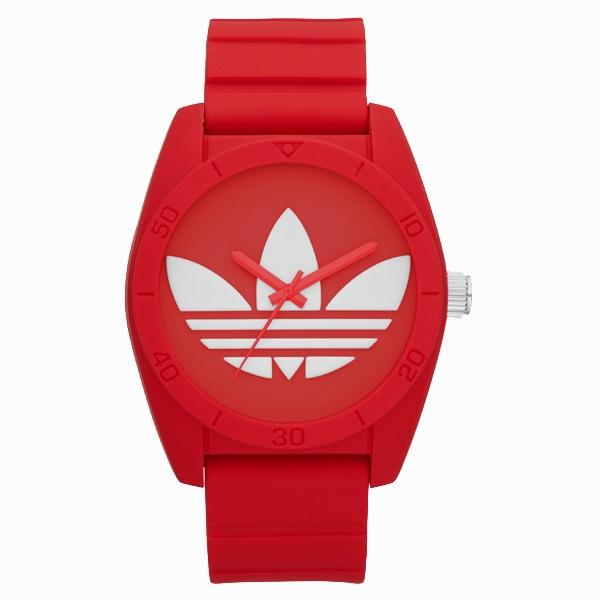 adidas アディダス【adidas アディダス SANTIAGO サンティアゴ 【国内正規品】 レッド ADH6168】【ジュエリー・腕時計 ユニセックスadidas】【TiCTAC】チックタックオンラインストア