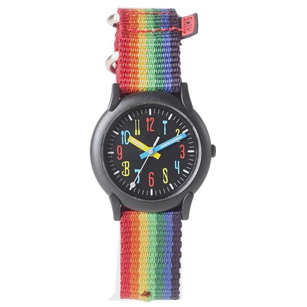 CHUMS チャムス【CHUMS チャムス CHUMS X TiCTAC コラボレーション Rainbow レインボー柄 腕時計 CH03-BLK/CZY】【ジュエリー・腕時計 ユニセックスCHUMS】【TiCTAC】チックタックオンラインストア