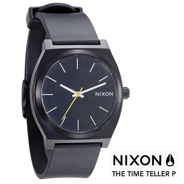 nixon ニクソン【NIXON Time Teller P ニクソン タイムテラー ブラック 【国内正規品】 A119000】【ジュエリー・腕時計 ユニセックスNIXON】【TiCTAC】チックタックオンラインストア