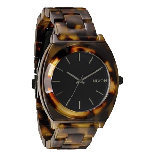 nixon ニクソン【NIXON ニクソン Time Teller Acetate タイムテラー アセテート Tortoise トートイズ 腕時計 【国内正規品】 A327646】【ジュエリー・腕時計 ユニセックスNIXON】【TiCTAC】チックタックオンラインストア