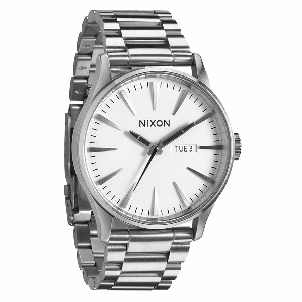 nixon ニクソン【NIXON ニクソン THE SENTRY セントリー 腕時計 【国内正規品】 メンズ ホワイト NA356100】【ジュエリー・腕時計 メンズNIXON】【TiCTAC】チックタックオンラインストア