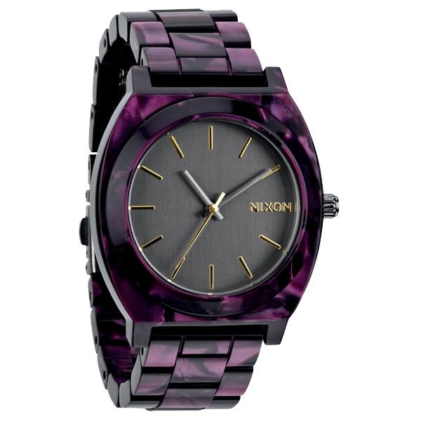 nixon ニクソン【NIXON ニクソン Time Teller Acetate タイムテラー アセテート VELVET ベルベット 腕時計 【国内正規品】 NA3271345】【ジュエリー・腕時計 ユニセックスNIXON】【TiCTAC】チックタックオンラインストア
