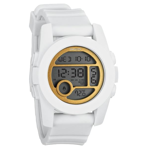 nixon ニクソン【NIXON ニクソン UNIT40 ユニット40 ホワイト/ゴールド 腕時計 【国内正規品】 NA4901035】【ジュエリー・腕時計 レディースNIXON】【TiCTAC】チックタックオンラインストア
