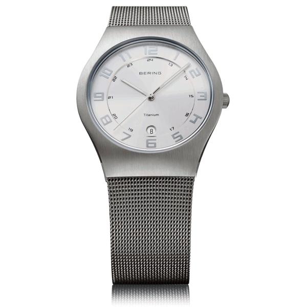 BERING ベーリング【BERING ベーリング Ultra Slim Titanium ウルトラ スリム チタニウム 腕時計 【国内正規品】 メンズ シルバー 11937-000】【ジュエリー・腕時計 メンズBERING】【TiCTAC】チックタックオンラインストア
