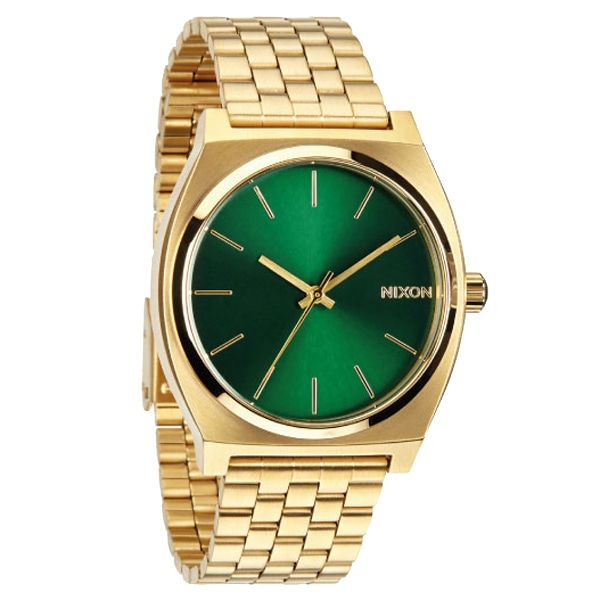 nixon ニクソン【NIXON ニクソン Time Teller Gold/Green Sunray タイムテラー ゴールドグリーン サンレイ  【国内正規品】 NA0451919】【ジュエリー・腕時計 ユニセックスNIXON】【TiCTAC】チックタックオンラインストア