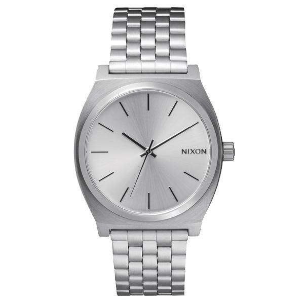 nixon ニクソン【NIXON ニクソン Time Teller タイムテラー オールシルバー 【国内正規品】 NA0451920】【ジュエリー・腕時計 ユニセックスNIXON】【TiCTAC】チックタックオンラインストア