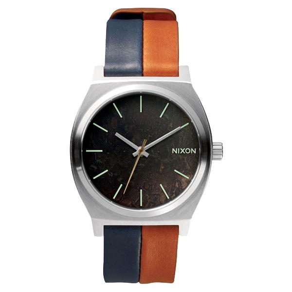 nixon ニクソン【NIXON ニクソン Time Teller タイムテラー ダークカッパー/ネイビー/サドル 【国内正規品】 NA0451957】【ジュエリー・腕時計 ユニセックスNIXON】【TiCTAC】チックタックオンラインストア