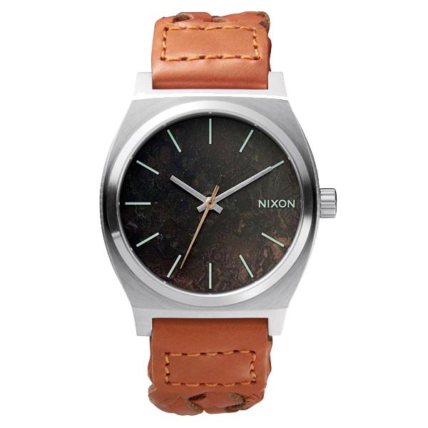 nixon ニクソン【NIXON ニクソン Time Teller タイムテラー ダークカッパー サドルウーベン 【国内正規品】 NA0451959】【ジュエリー・腕時計 ユニセックスNIXON】【TiCTAC】チックタックオンラインストア