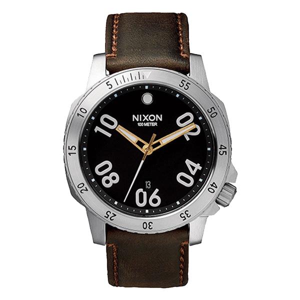 nixon ニクソン【NIXON ニクソン RANGER LEATHER レンジャー レザー BLACK/BROWN 【国内正規品】 メンズ NA508019】【ジュエリー・腕時計 メンズNIXON】【TiCTAC】チックタックオンラインストア