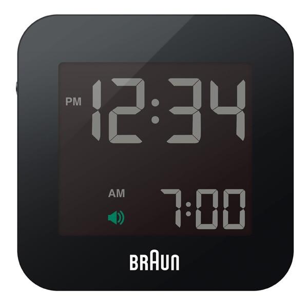 BRAUN ブラウン【BRAUN ブラウン Digital Clock デジタルクロック ブラック 電波時計 【国内正規品】 BNC008BK-RC】【インテリア雑貨置時計BRAUN】【TiCTAC】チックタックオンラインストア