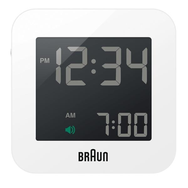 BRAUN ブラウン【BRAUN ブラウン Digital Clock デジタルクロック ホワイト 電波時計 【国内正規品】 BNC008WH-RC】【インテリア雑貨置時計BRAUN】【TiCTAC】チックタックオンラインストア