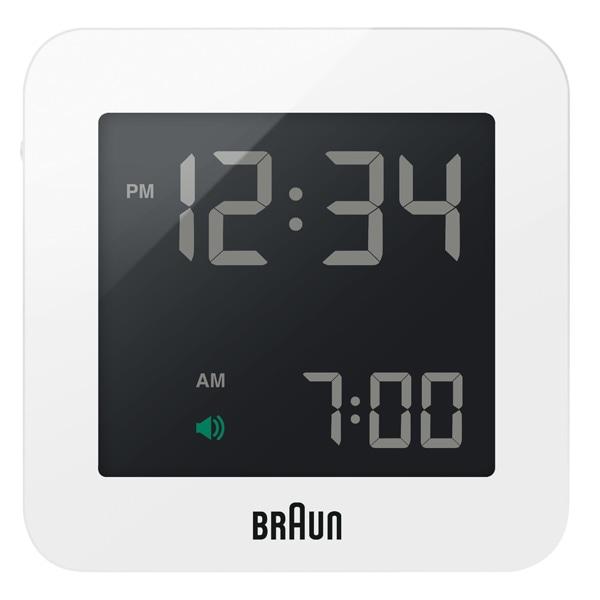 BRAUN ブラウン【BRAUN ブラウン Digital Clock デジタルクロック ホワイト 電波時計 【国内正規品】 BNC009WH-RC】【インテリア雑貨置時計BRAUN】【TiCTAC】チックタックオンラインストア