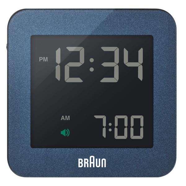 BRAUN ブラウン【BRAUN ブラウン Digital Clock デジタルクロック ブルー 電波時計 【国内正規品】 BNC009BL-RC】【インテリア雑貨置時計BRAUN】【TiCTAC】チックタックオンラインストア