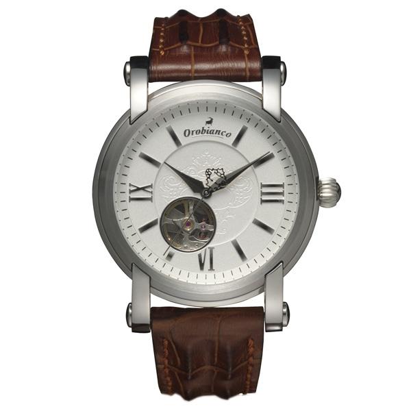 Orobianco オロビアンコ【Orobianco Nobile(オロビアンコ ノービレ)腕時計 ホワイト メンズ OR-0005-19】【ジュエリー・腕時計 メンズOrobianco】【TiCTAC】チックタックオンラインストア