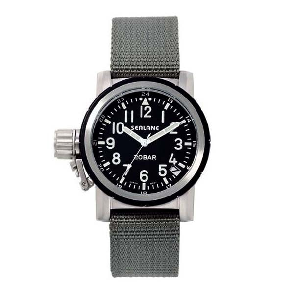 SEALANE シーレーン【SEALANE シーレーン グレー ナイロンストラップ 腕時計 SE38-NRBK】【ジュエリー・腕時計 メンズSEALANE】【TiCTAC】チックタックオンラインストア