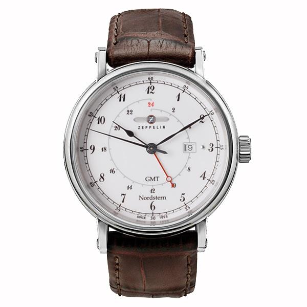 ZEPPELIN ツェッペリン【ZEPPELIN ツェッペリン Nordstern ノルドスタン ドイツ製 腕時計 メンズ ホワイト 75461】【ジュエリー・腕時計 メンズZEPPELIN】【TiCTAC】チックタックオンラインストア