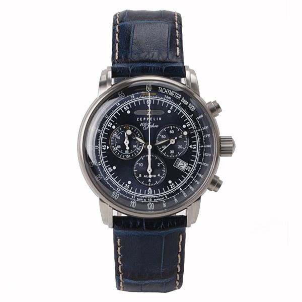 ZEPPELIN ツェッペリン【ZEPPELIN ツェッペリン 【TiCTAC別注】 ドイツ製 腕時計 メンズ ネイビー 7680-3】【ジュエリー・腕時計 メンズZEPPELIN】【TiCTAC】チックタックオンラインストア